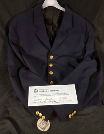 Genuine 'Titanic' 1997 Movie Prop Steward's Jacket
